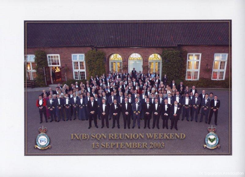 Reunion Dinner 2003 001