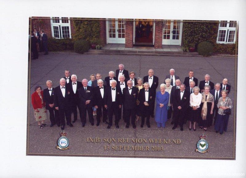 Reunion Dinner 2003